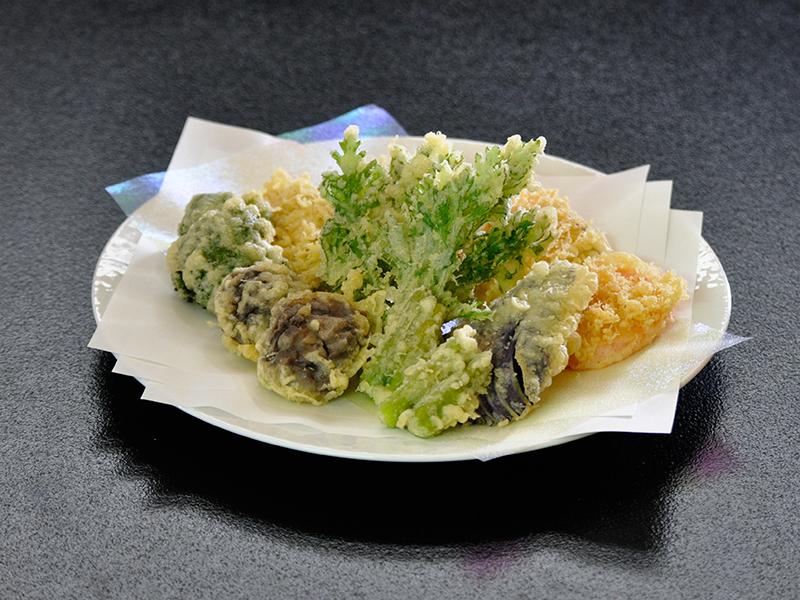 野菜天ぷら(2人前より)